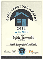 Good Landord Award Nick Jemmett